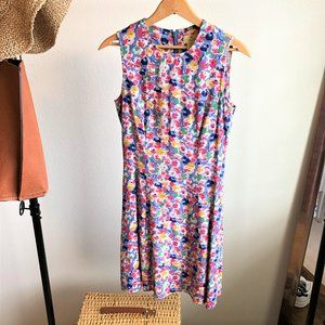 Floral Pattern Sleeveless One Piece 👗